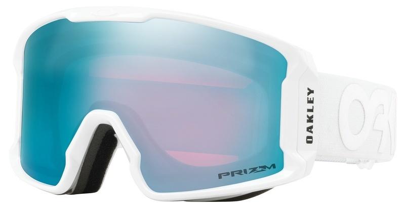 Lyžiarske okuliare Oakley LM XM FP Whiteout w   prizm Sapphire OO7093-13 f696e5f7658
