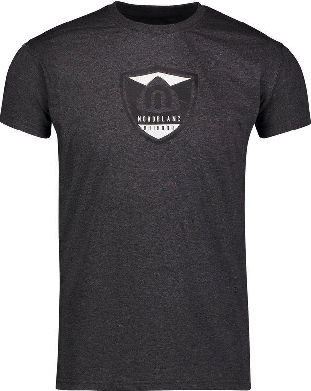 Pánske bavlnené tričko NORDBLANC Crest NBSMT6814_GRM M