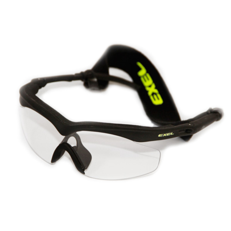 Okuliare EXEL GOGGLES HURRICANE black / neon yellow senior