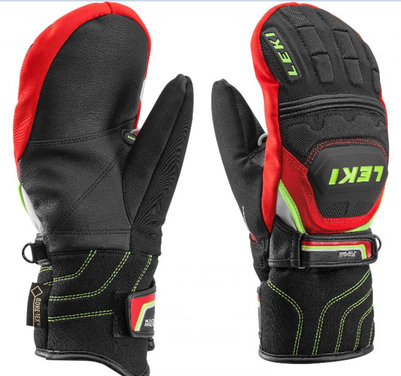 Rukavice LEKI WC Race Coach Flex S GTX Junior Mitten 634-81121