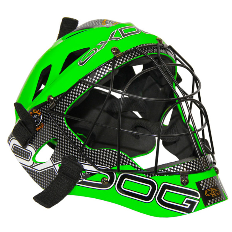 Helma Oxdog GATE GOALIE HELMET senior green / black