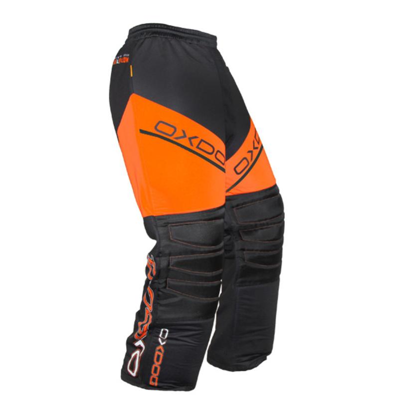 Brankárske nohavice Oxdog VAPOR GOALIE PANTS black / orange