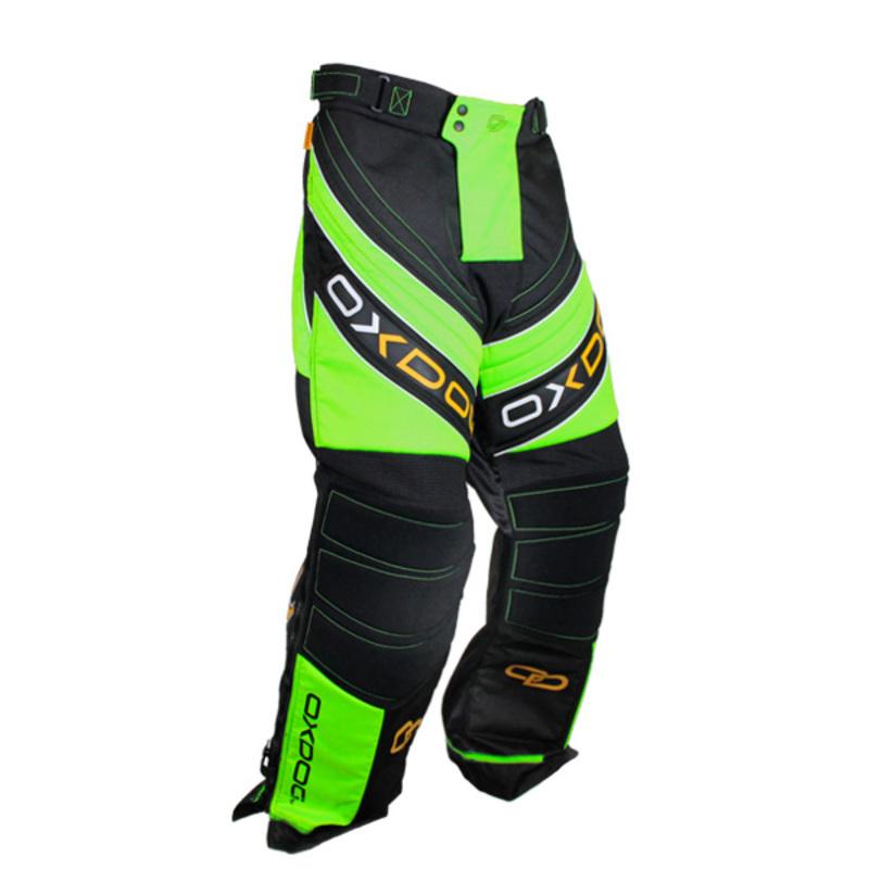 Brankárske nohavice Oxdog GATE GOALIE PANTS black / green