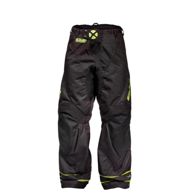 Brankárske nohavice EXEL G2 GOALIE PANTS black / yellow
