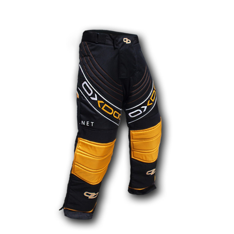 Brankárske nohavice Oxdog BLOCKER GOALIE PANTS black / orange