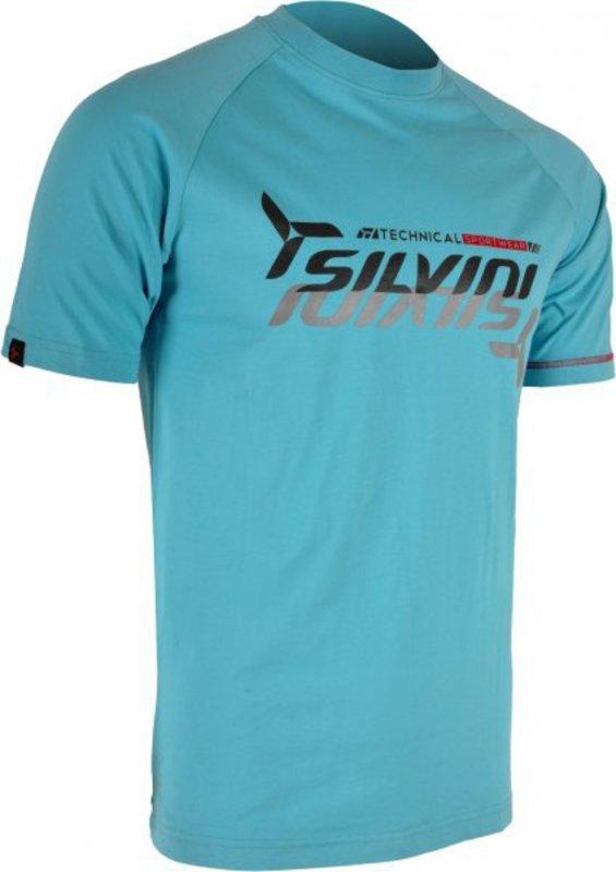 Pánske triko Silvini Promo MT517 turquoise