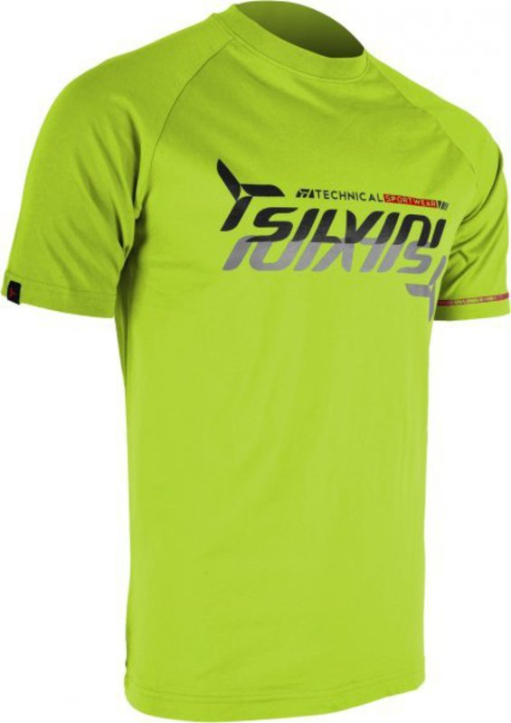 Pánske triko Silvini Promo MT517 lime