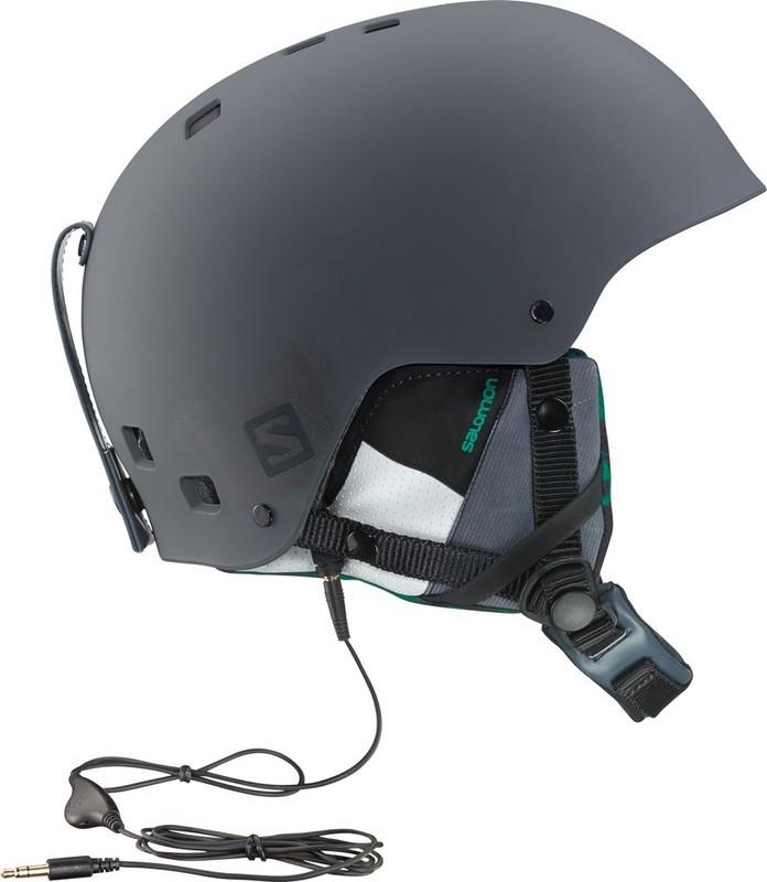 Lyžiarska helma Salomon BRIGADE AUDIO 368433
