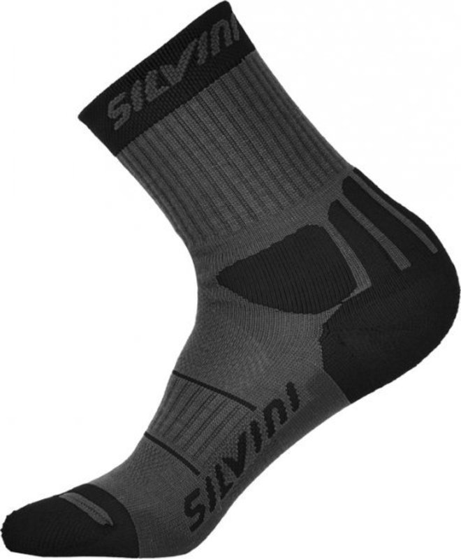 Ponožky Silvini Vallonga UA522 grey-black
