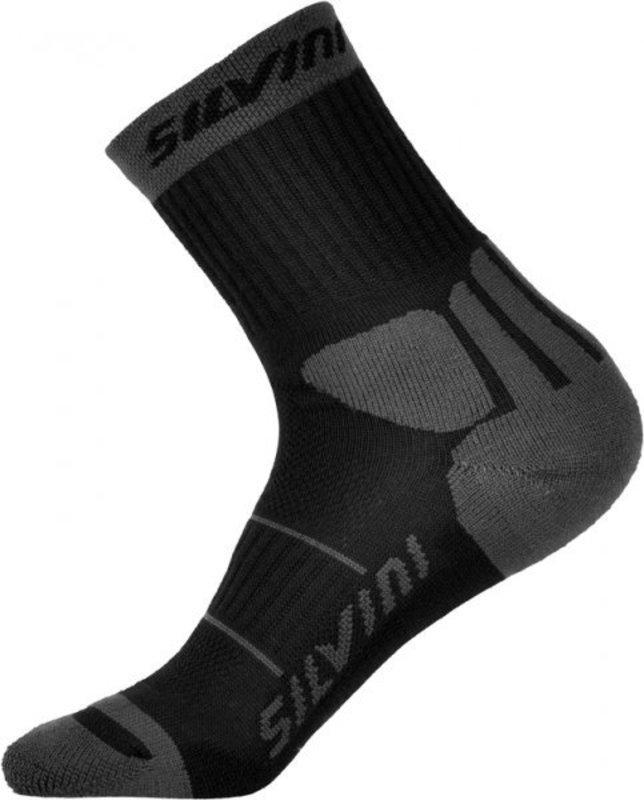 Ponožky Silvini Vallonga UA522 black-grey