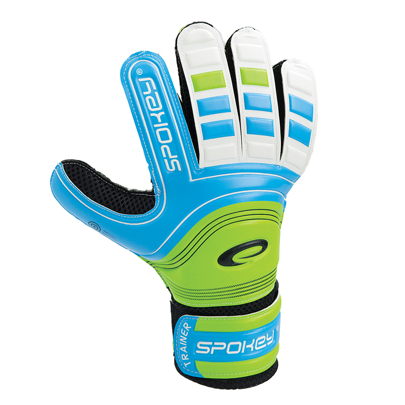 Brankárske rukavice Spokey TRAINER modré