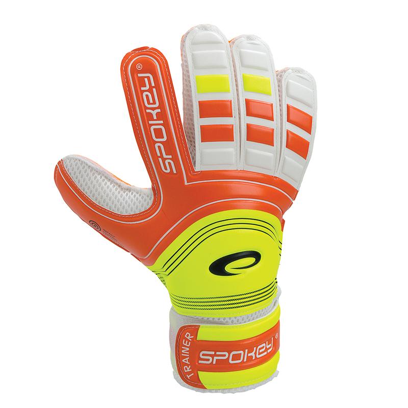 Brankárske rukavice Spokey TRAINER oranžové