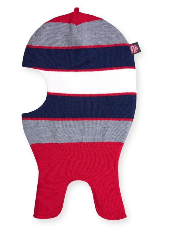 Detské pletená kukla Kama DB19 104 červená