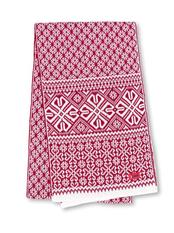 Pletená šál Kama S16 112 prírodný