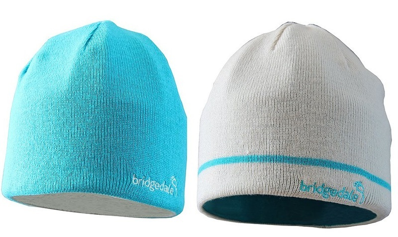 Čiapky Bridgedale Flip Reversible 0012 ecru / turquoise