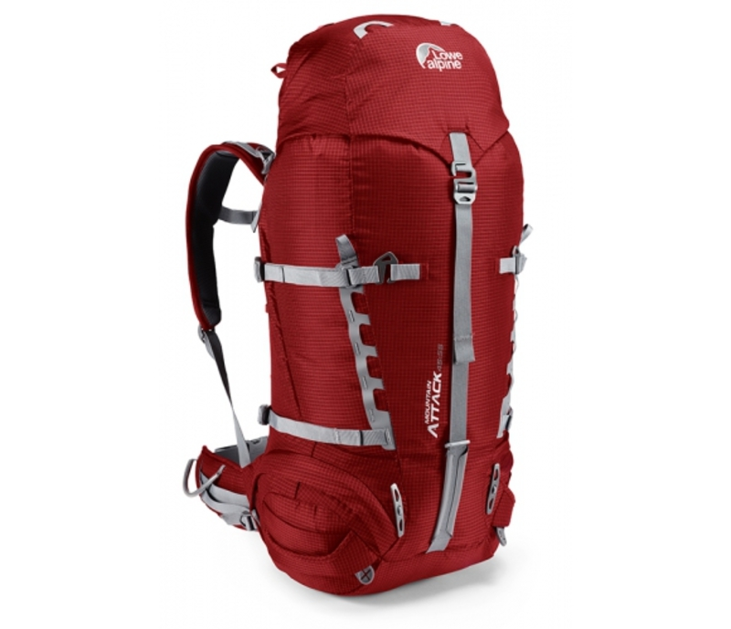 Batoh Lowe alpine Mountain Attack 45:55 PRG pepper red / gunmetal