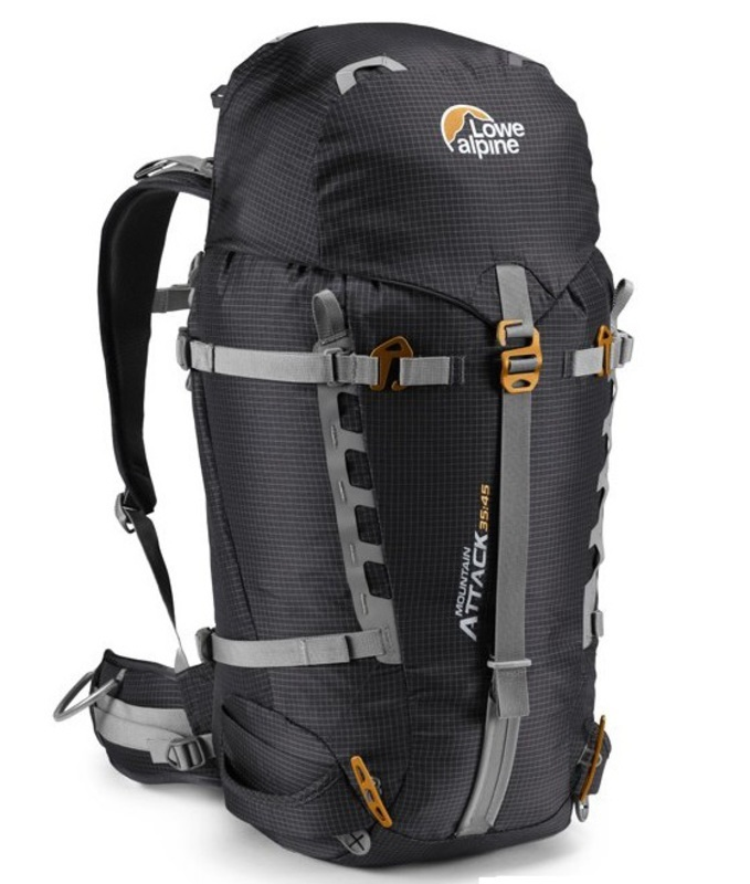 Batoh Lowe alpine Mountain Attack 35:45 BLT black/tangerine