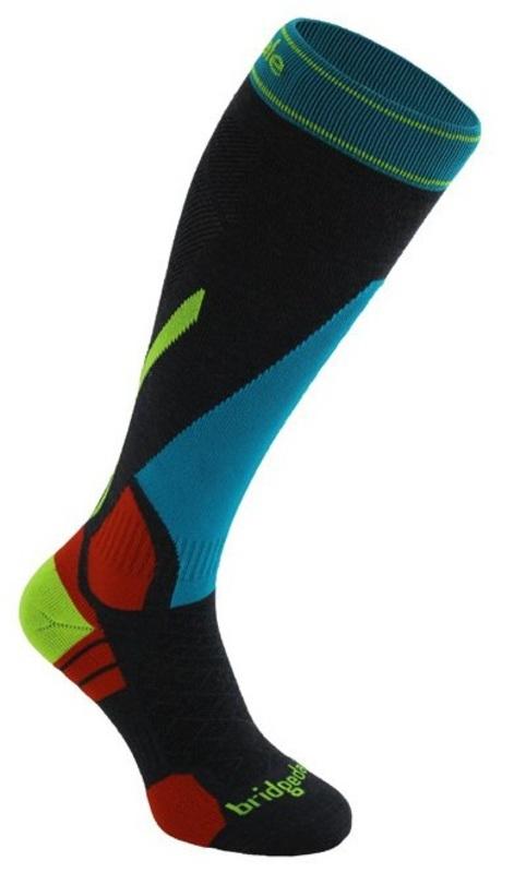Ponožky Bridgedale Vertige Light 875 gunmetal / multi
