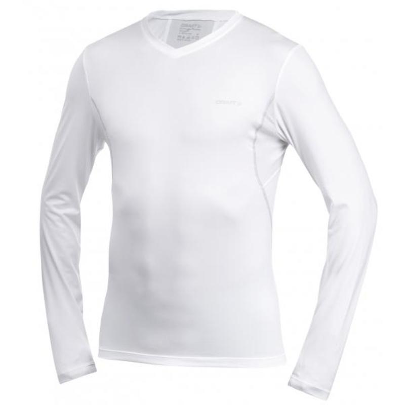 Tričko CRAFT Cool Long Sleeve 193676-1900 - biela
