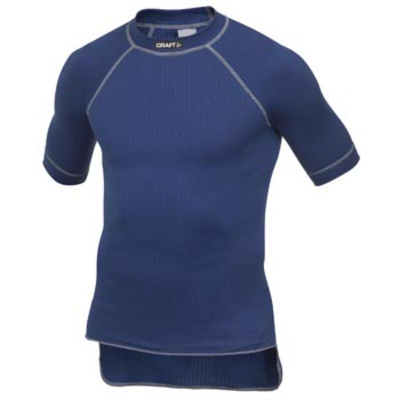 Tričko CRAFT Active Shortsleeve 194002-1343 - modrá
