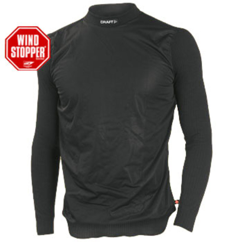 Tričko CRAFT Active WS Longslee 197659-1999 - čierna