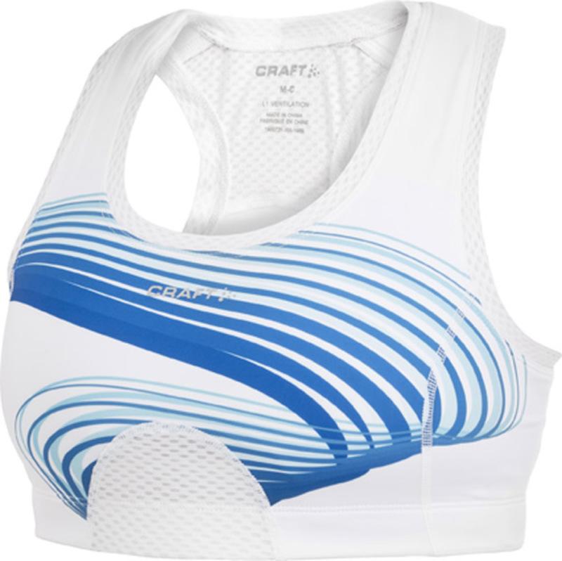 Podprsenka CRAFT Sports Super 1900722C-2345 - modrá potlač