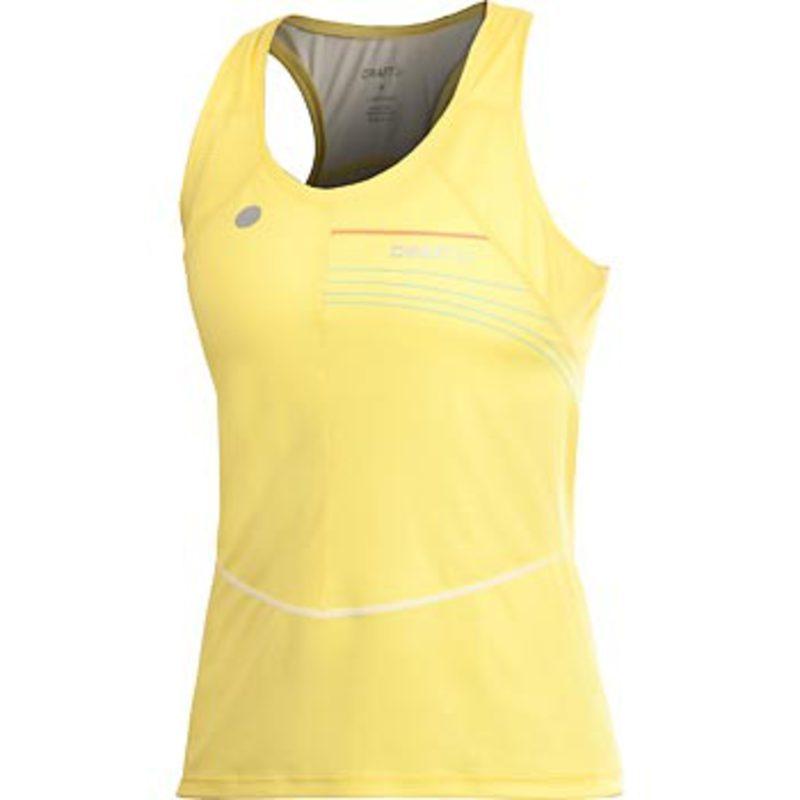 Nátelník CRAFT PR Singlet 1901324-2505 - žltá