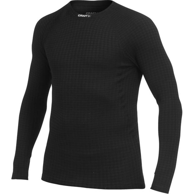 Tričko CRAFT Warm Wool 1902862-9999 - čierna