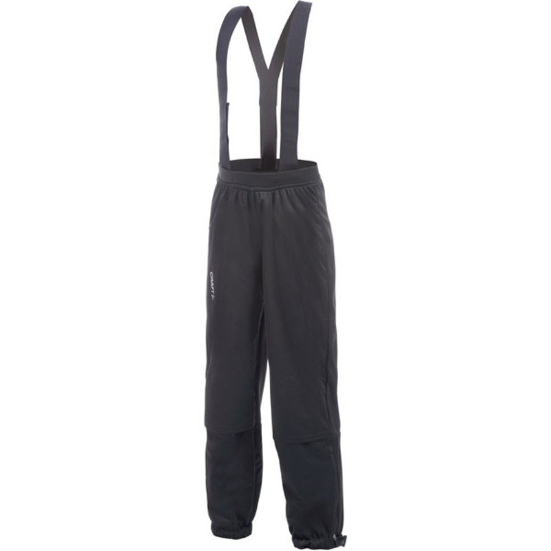 Nohavice CRAFT XC Warm Junior 1902838-9999 - čierna