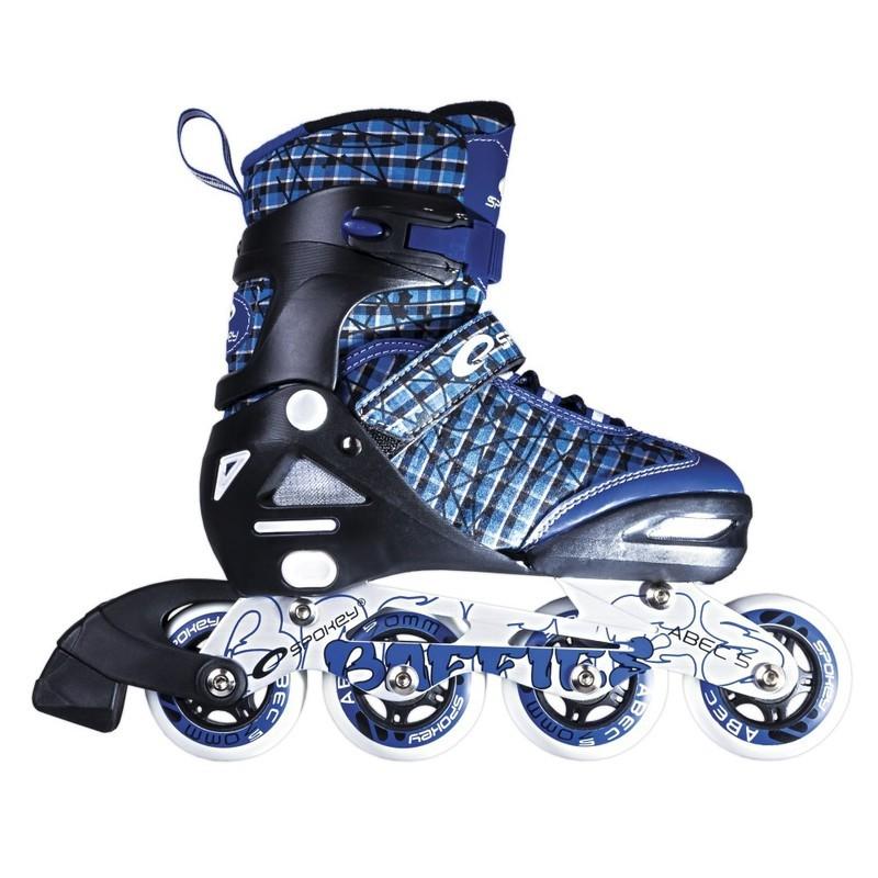 Kolieskové korčule Spokey BAFFIES modré