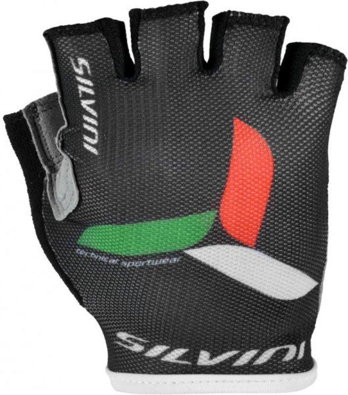 Pánske cyklistické rukavice Silvini Team UA262M black