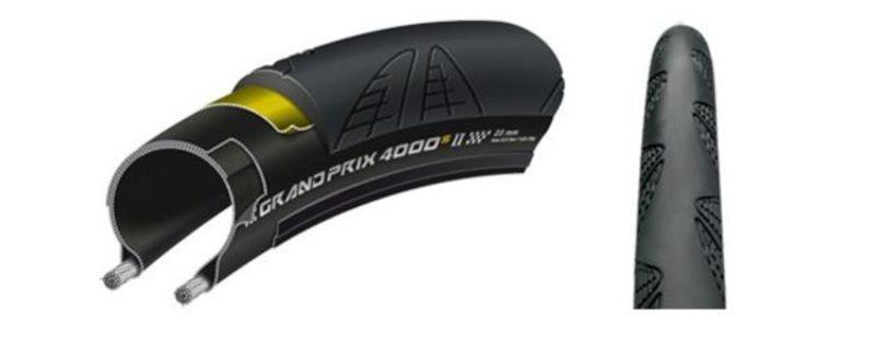 Plášť Continental Grand Prix 4000 S II 700x25C čierna / čierna skladačka 100945