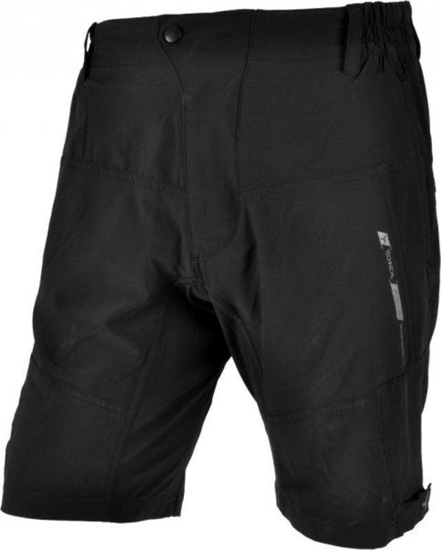 Pánske voľné cyklistické nohavice Silvini Chiecco MP629 black