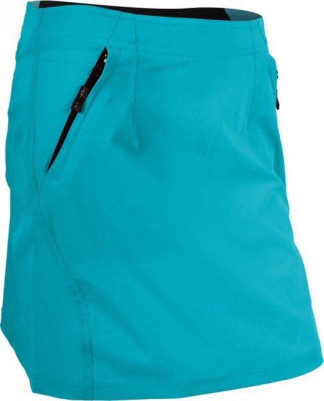 Dámska cyklistická sukňa Silvini Invia WS378 turquoise