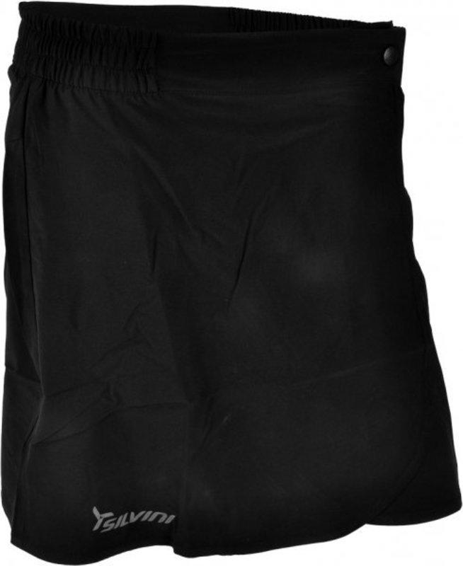 Dámska cyklistická sukňa Silvini Tresa WS613 black