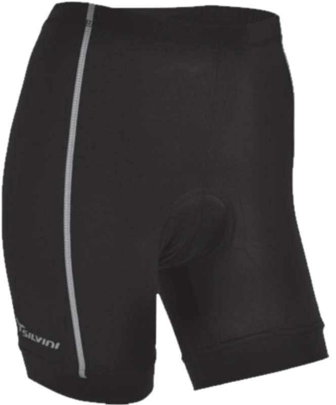 Dámske cyklistické nohavice Silvini Avio Short WP462 black