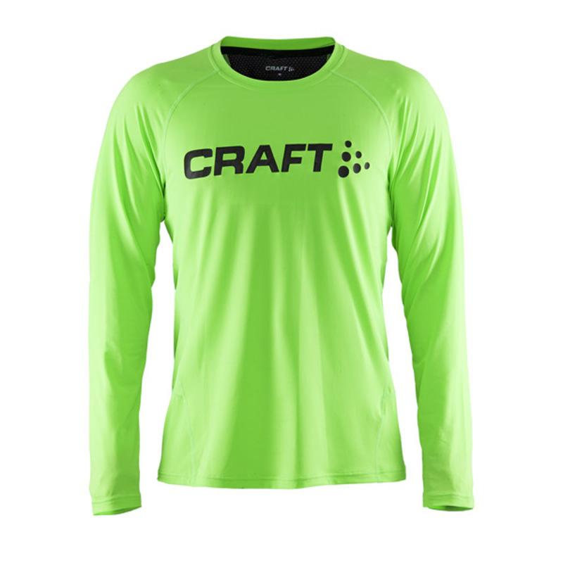 Tričko CRAFT Precise LS 1903333-2810 - zelená