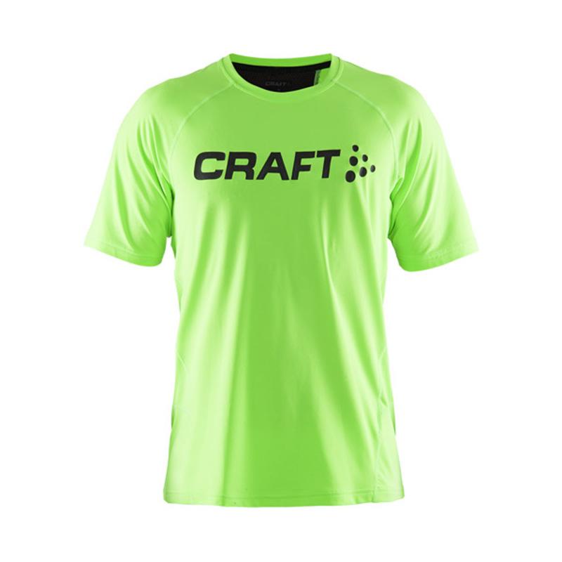 Tričko CRAFT Precise 1903332-2810 - zelená