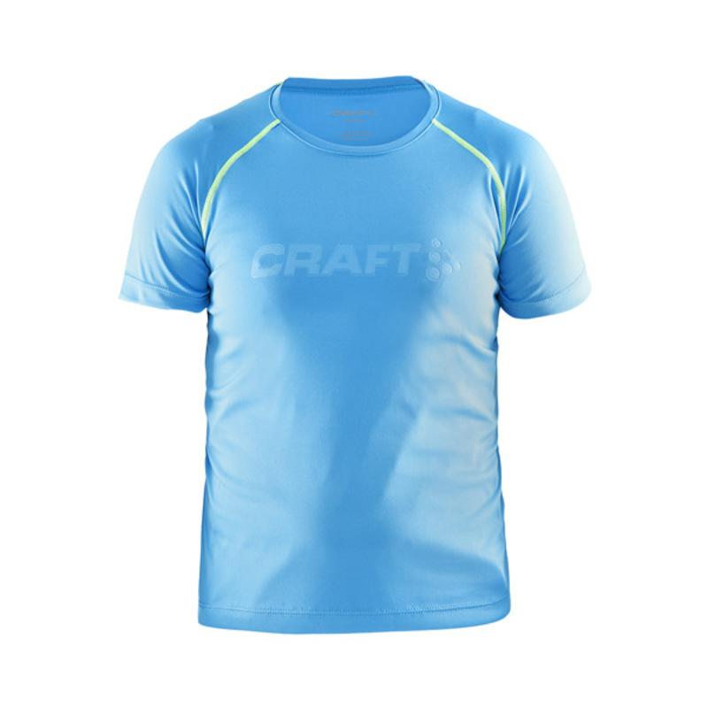 Tričko CRAFT Run 1902523-2317 - svetlo modrá