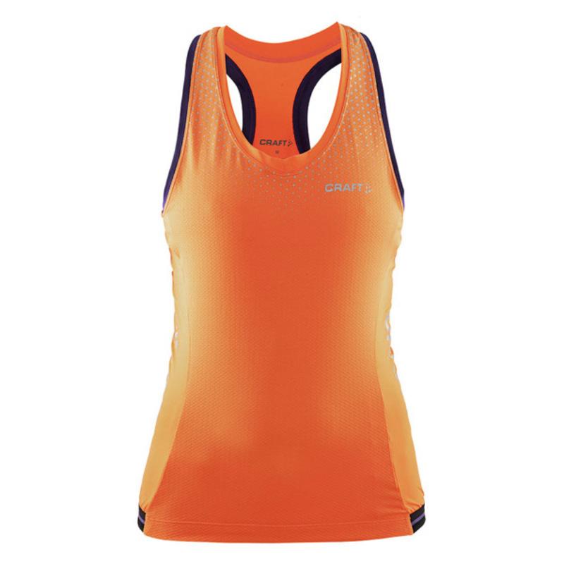 Cyklonátělník CRAFT Glow 1903357-2576 - oranžová