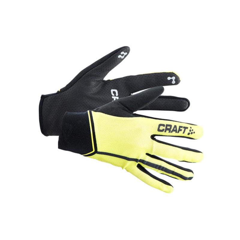 Cyklorukavice CRAFT Control 1903306-2851 - žltá