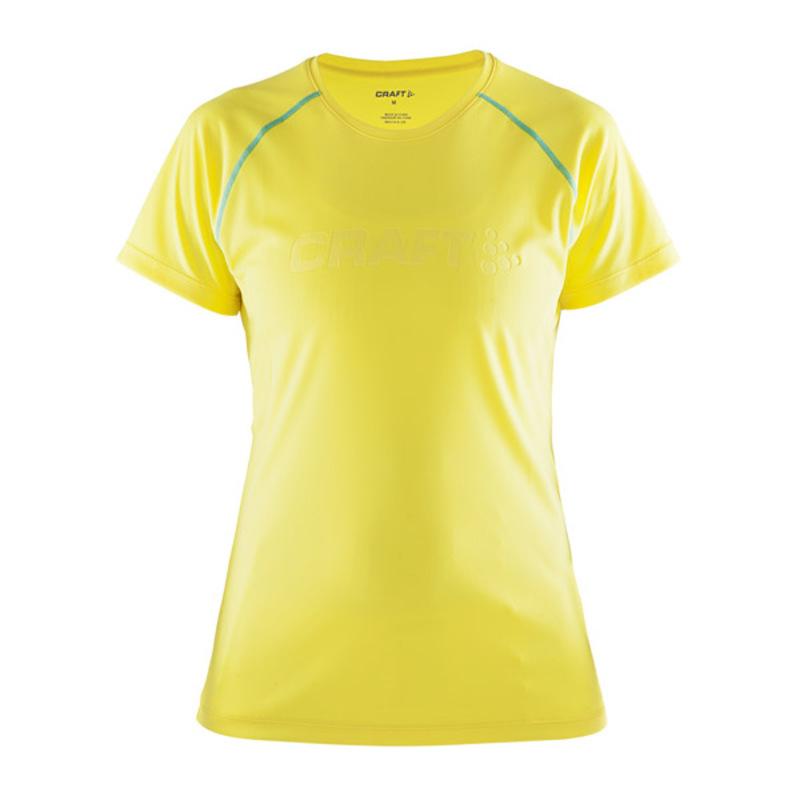 Tričko CRAFT Prime 1903174-2553 - žltá