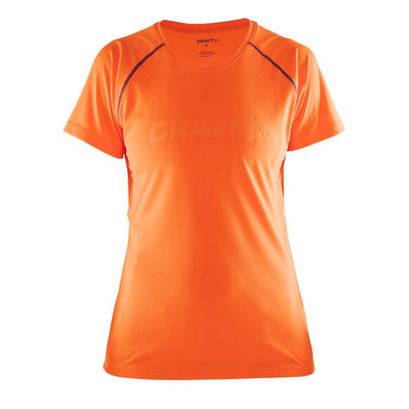 Tričko CRAFT Prime 1903174-2576 - oranžová