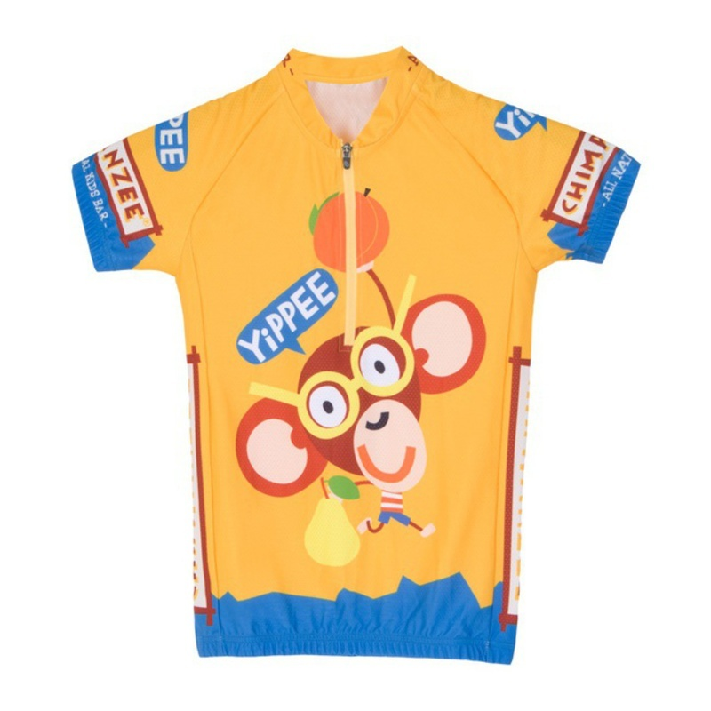 Detský dres Sensor Chimpanzee žltá 15100101
