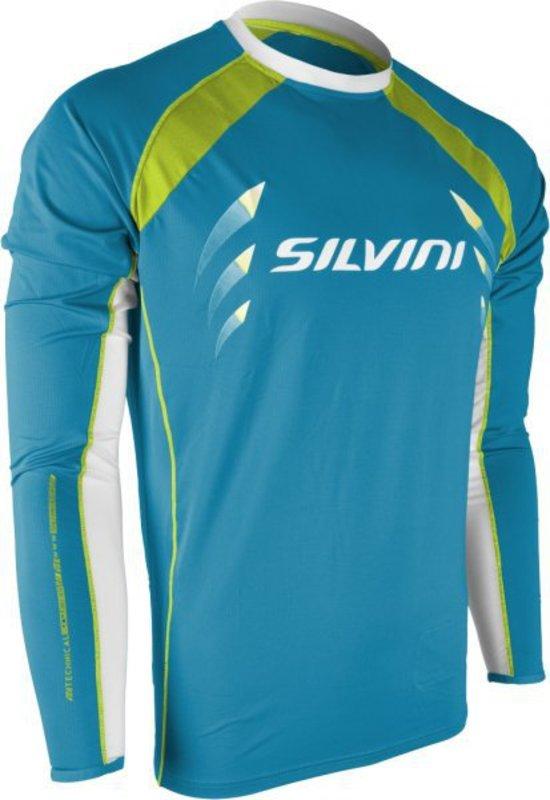 Pánsky cyklistický dres Silvini Reno MD609 lake-lime