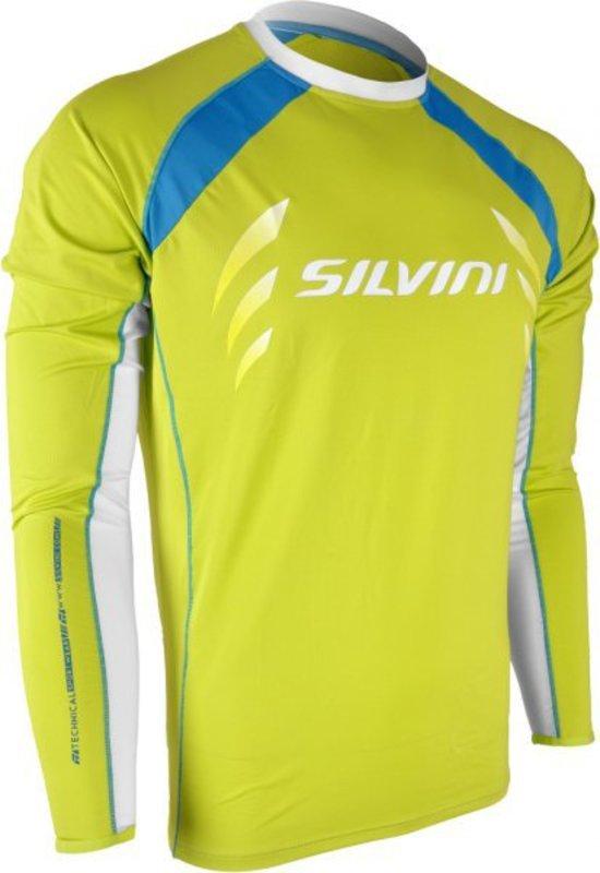 Pánsky cyklistický dres Silvini Reno MD609 lime-lake