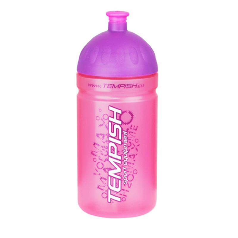 Športové fľaša Tempish BIDON 0,5l sa zátkou pink