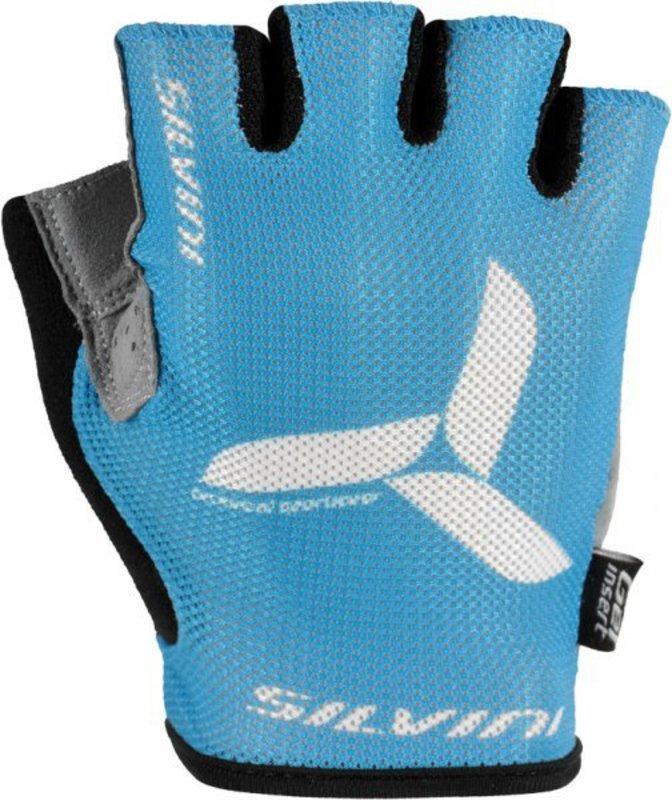 Dámske cyklistické rukavice Silvini Team UA262W blue