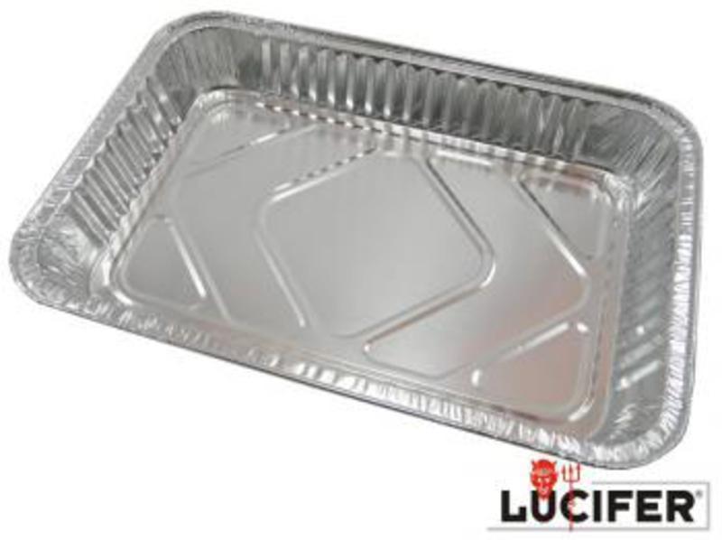 Alu miska odkvapkávací Lucifer - 10 ks 492665