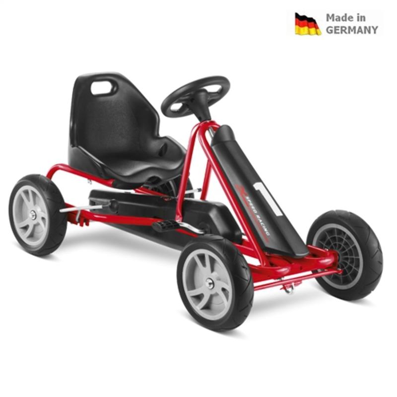Detská šlapacia kára PUKY Cart AIR F 1L čierna